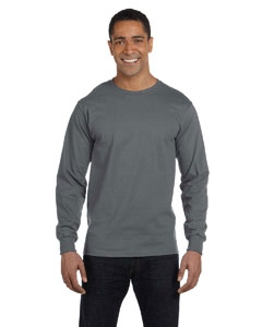 Fruit of the Loom HD6LR 6 oz., 100% Cotton Lofteez HD® Long-Sleeve T-Shirt