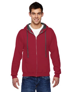 Fruit of the Loom SF73R 7.2 oz. Sofspun Full-Zip Hooded Sweatshirt