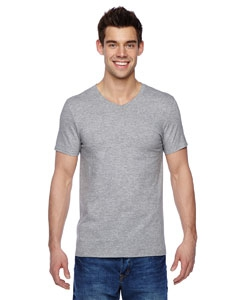 Fruit of the Loom SFVR 4.7 oz., 100% Sofspun Cotton Jersey V-Neck T-Shirt