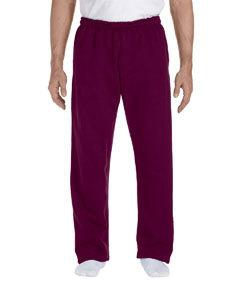Gildan G123 DryBlend® 9.3 oz., 50/50 Open-Bottom Sweatpants