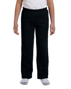 Gildan G184B Heavy Blend Youth 8 oz., 50/50 Open-Bottom Sweatpants