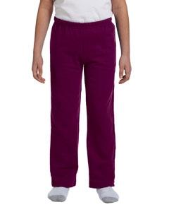 Gildan G184B Heavy Blend Youth 8 oz., 50/50 Open-Bottom Sweatpants