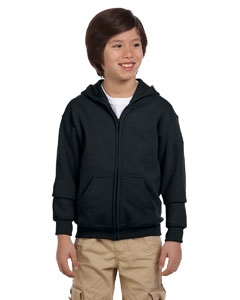 Gildan G186B Heavy Blend Youth 8 oz., 50/50 Full-Zip Hood