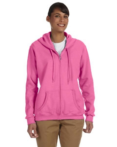 Gildan G186FL Heavy Blend Ladies' 8 oz., 50/50 Full-Zip Hood