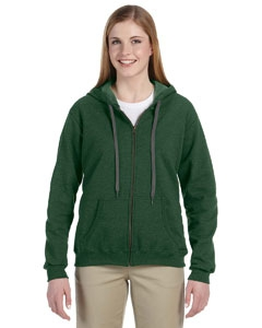 Gildan G187FL Heavy Blend Ladies' 8 oz. Vintage Classic Full-Zip Hood