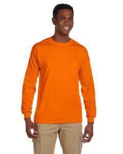 Gildan G241 Ultra Cotton® 6 oz. Long-Sleeve Pocket T-Shirt