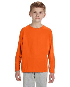 Gildan G424B Performance Youth 4.5 oz. Long-Sleeve T-Shirt