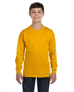 Gildan G540B Heavy Cotton Youth 5.3 oz. Long-Sleeve T-Shirt