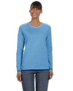 Gildan G540L Heavy Cotton Ladies' 5.3 oz. Missy Fit Long-Sleeve T-Shirt