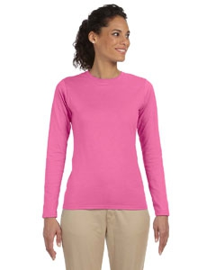 Gildan G644L Softstyle® Ladies' 4.5 oz. Junior Fit Long-Sleeve T-Shirt