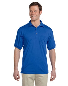 Gildan G890 DryBlend® 6 oz., 50/50 Jersey Polo with Pocket