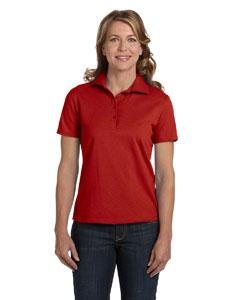 Hanes 035 Ladies' 7 oz. ComfortSoft® Cotton Piqué Polo