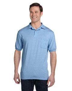Hanes 054P 5.2 oz., 50/50 EcoSmart® Jersey Pocket Polo