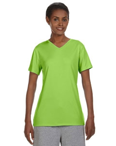 Hanes 483V Ladies' 4 oz. Cool Dri® V-Neck T-Shirt