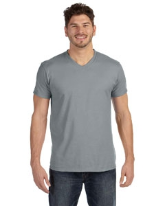 Hanes 498V 4.5 oz., 100% Ringspun Cotton nano-T® V-Neck T-Shirt