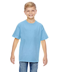 Hanes 498Y Youth 4.5 oz., 100% Ringspun Cotton nano-T® T-Shirt