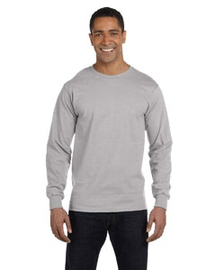 Hanes 5286 5.2 oz. ComfortSoft® Cotton Long-Sleeve T-Shirt
