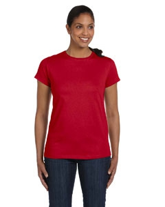 Hanes 5680 Ladies' 5.2 oz. ComfortSoft® Cotton T-Shirt