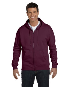 Hanes P180 7.8 oz. ComfortBlend® EcoSmart® 50/50 Full-Zip Hood