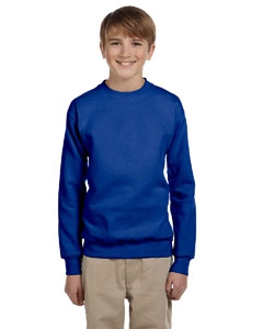 Hanes P360 Youth 7.8 oz. ComfortBlend® EcoSmart® 50/50 Fleece Crew