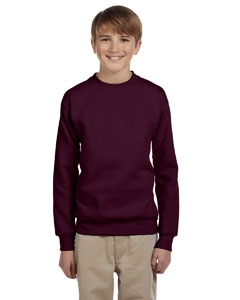 Hanes P360 Youth 7.8 oz. ComfortBlend® EcoSmart® 50/50 Fleece Crew