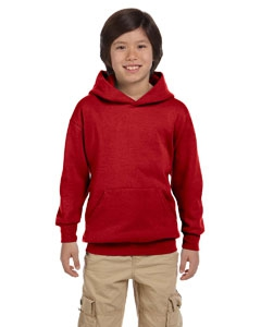 Hanes P473 Youth 7.8 oz. ComfortBlend® EcoSmart® 50/50 Pullover Hood