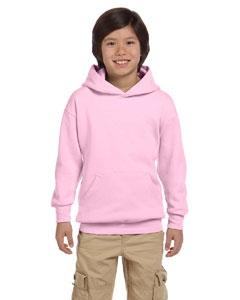 Hanes P473 Youth 7.8 oz. ComfortBlend® EcoSmart® 50/50 Pullover Hood