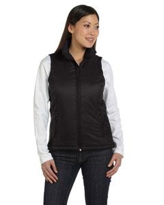 Harriton M795W Ladies' Essential Polyfill Vest