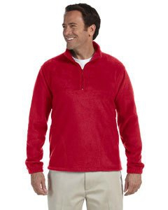Harriton M980 8 oz. Quarter-Zip Fleece Pullover
