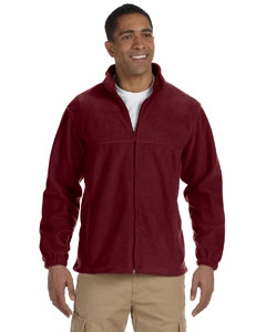 Harriton M990 Men's 8 oz. Full-Zip Fleece