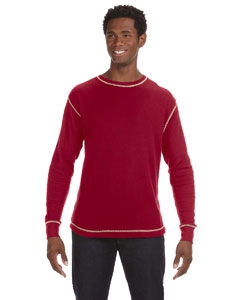 J America JA8238 Vintage Long-Sleeve Thermal T-Shirt