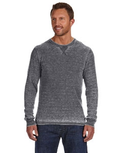 J America JA8241 Vintage Zen Thermal Long-Sleeve T-Shirt