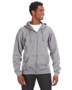 J America JA8821 Premium Full-Zip Fleece Hood