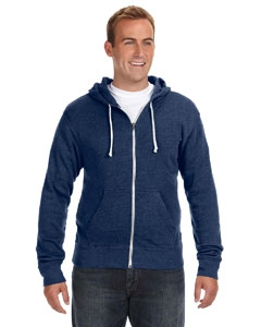 J America JA8872 Triblend Full-Zip Fleece Hood
