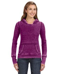 J America JA8912 Ladies' Zen Pullover Fleece Hood