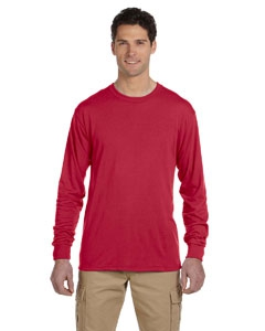 Jerzees 21ML 5.3 oz., 100% Polyester SPORT with Moisture-Wicking Long-Sleeve T-Shirt