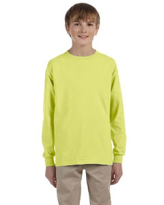 Jerzees 29BL Youth 5.6 oz., 50/50 Heavyweight Blend Long-Sleeve T-Shirt
