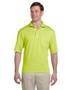 Jerzees 436P 5.6 oz., 50/50 Jersey Pocket Polo with SpotShield