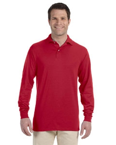 Jerzees 437ML 5.6 oz., 50/50 Long-Sleeve Jersey Polo with SpotShield