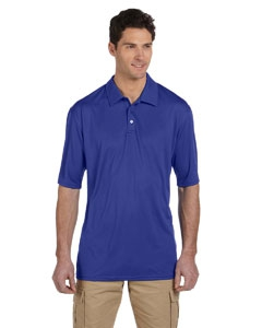 Jerzees 441M Men's 4.1 oz., 100% Polyester Micro Pointelle Mesh SPORT with Moisture-Wicking Polo