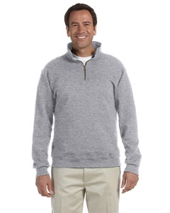 Jerzees 4528 9.5 oz., 50/50 Super Sweats® NuBlend® Fleece Quarter-Zip Pullover