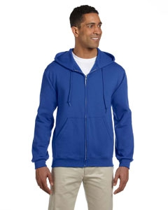 Jerzees 4999 9.5 oz., 50/50 Super Sweats® NuBlend® Fleece Full-Zip Hood