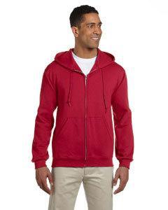 Jerzees 4999 9.5 oz., 50/50 Super Sweats® NuBlend® Fleece Full-Zip Hood