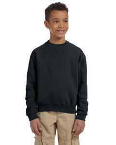 Jerzees 562B Youth 8 oz., 50/50 NuBlend® Fleece Crew