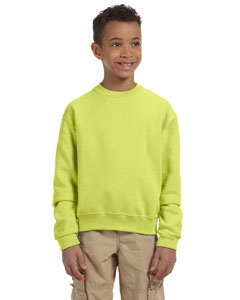 Jerzees 562B Youth 8 oz., 50/50 NuBlend® Fleece Crew