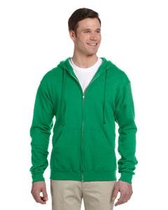 Jerzees 993 8 oz., 50/50 NuBlend® Fleece Full-Zip Hood