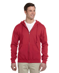 Jerzees 993 8 oz., 50/50 NuBlend® Fleece Full-Zip Hood