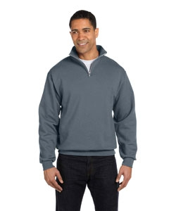 Jerzees 995M 8 oz., 50/50 NuBlend® Quarter-Zip Cadet Collar Sweatshirt