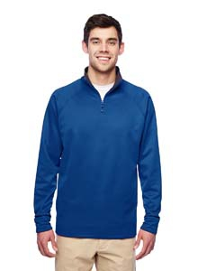 Jerzees PF95MR Adult Quarter-Zip Tech Fleece