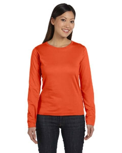 LAT 3588 Ladies' Combed Ringspun Jersey Long-Sleeve T-Shirt